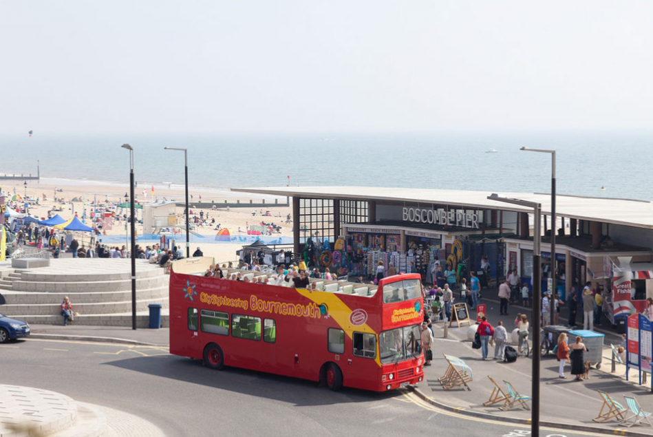 Bournemouth bus tour